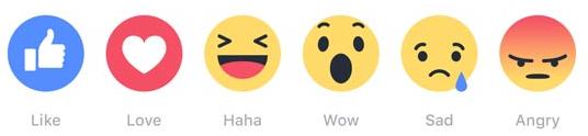 רגשונים פייסבוק